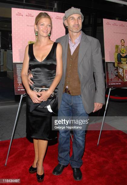 Director Craig Gillespie and Guest at the NY Premiere Of 'Lars And The Real Girl' at the Paris Theatre in New York October 3 2007