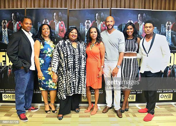 Director Craig Ross Jr Actress Penny Johnson Jerald Actor Stephen Bishop Actress Denise Boutte and Actor Pooch Hall arrive at The Beverly Hilton...