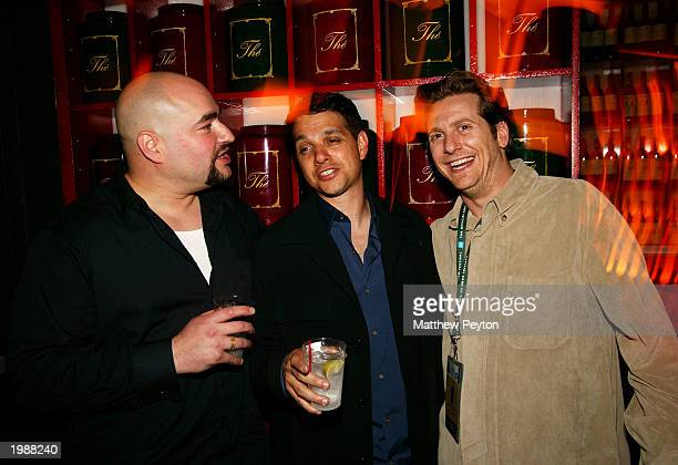 """Director Craig Singer, actor Ralph Macchio and producer Chris Williams attend the afterparty for the premiere of """"A Good Night To Die"""" at Man Ray May..."""