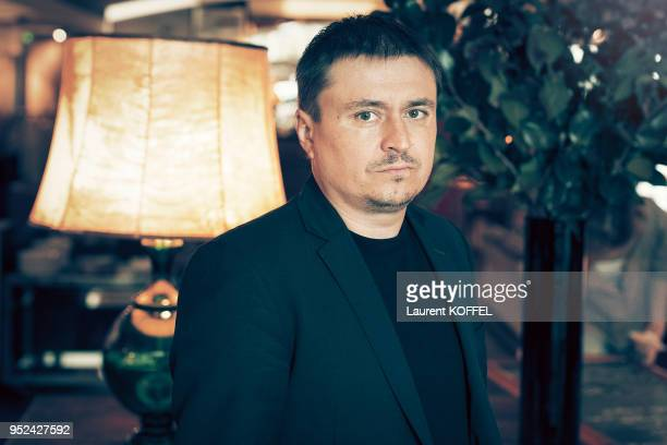 Director Cristian Mungiu is photographed for Self Assignment on October 26 2016 in Paris France