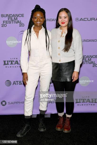 Director Crystal Kayiza and Producer Cady Lang attend the 2020 Sundance Film Festival See You Next Time Premiere at Prospector Square Theatre on...
