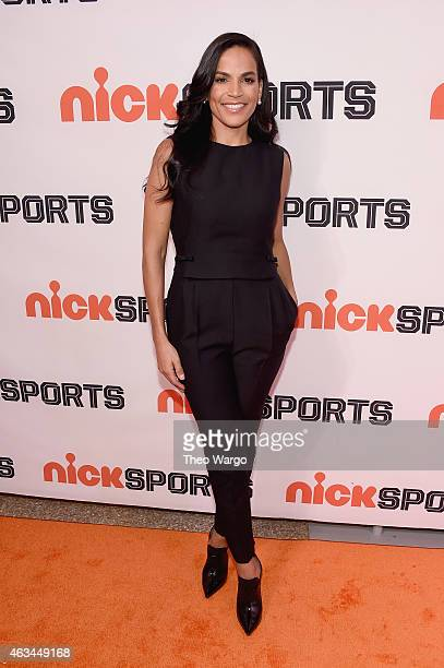 Director Crystal McCrary attends NICKSPORTS special screening and party for Little Ballers Documentary at Chelsea Piers on February 14 2015 in New...