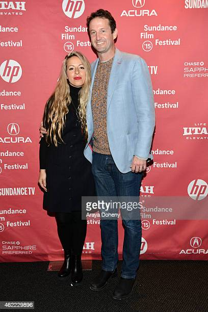 Director Crystal Moselle and Sundance Film Festival Director of Programming Trevor Groth attend The Wolfpack Premiere during the 2015 Sundance Film...