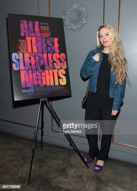 Director Crystal Moselle attends the premiere of The Orchard's 'All These Sleepless Nights' at the Regent Theater on April 4 2017 in Los Angeles...