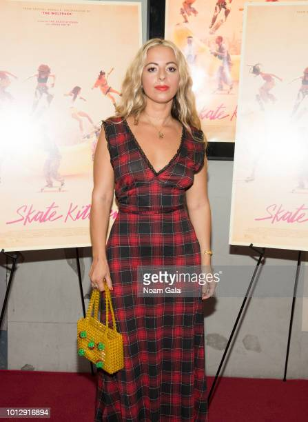 Director Crystal Moselle attends the 'Skate Kitchen' New York premiere at IFC Center on August 7 2018 in New York City