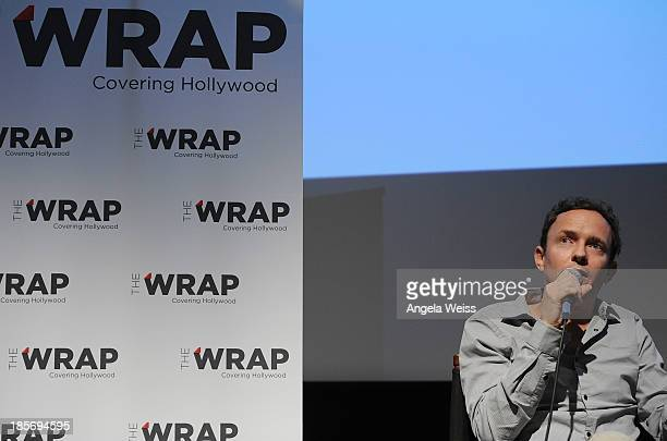 Director Cullen Hoback attends TheWrap's Awards series screening QA of Terms And Conditions May Apply at Landmark Theatres on October 23 2013 in Los...