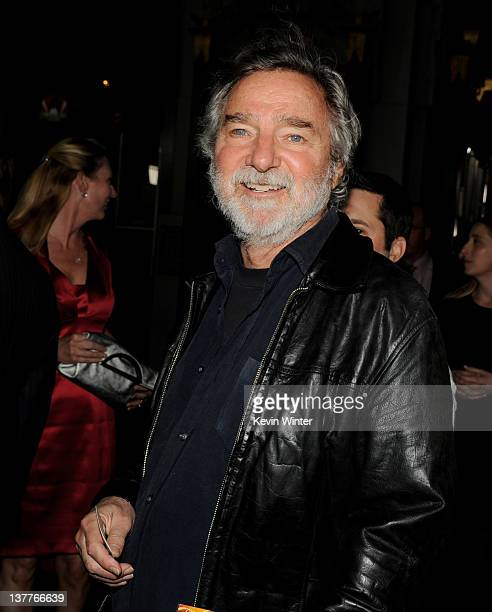 Director Curtis Hanson arrives at the premiere of HBO's 'Luck' at the Chinese Theater on January 25 2012 in Los Angeles California
