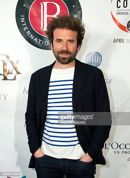 Director Cyril Dion attends the Barnes after Party during the 20th annual COLCOA French Film Festival in Beverly Hills California on April 21 2016 /...