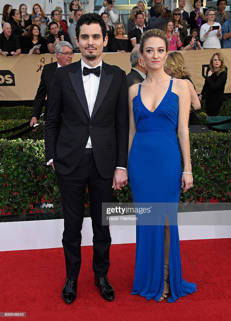 Director Damien Chazelle (L) and actor Olivia Hamilton attend The 23rd Annual Screen Actors Guild Awards at The Shrine Auditorium on January 29, 2017 in Los Angeles, California. 26592_008