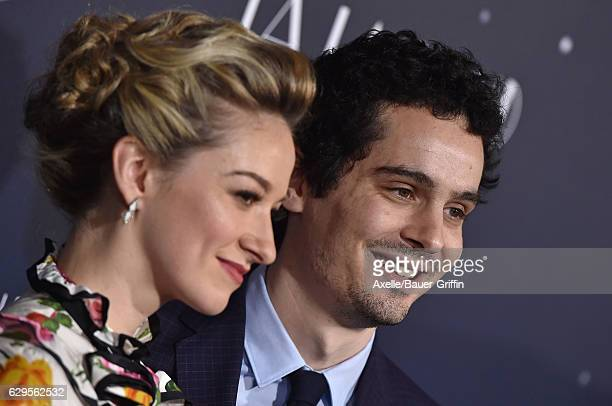 Director Damien Chazelle and Olivia Hamilton arrive at the Los Angeles premiere of 'La La Land' at Mann Village Theatre on December 6 2016 in...