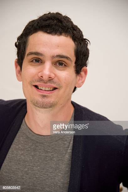 Director Damien Chazelle at the 'La La Land' Press Conference at the Fairmont Hotel on September 13 2016 in Toronto Canada