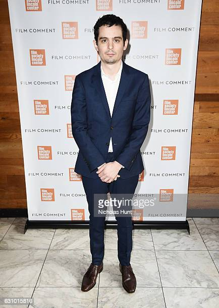 Director Damien Chazelle attends the 2016 Film Society Of Lincoln Center Film Comment Luncheon at Scarpetta on January 4 2017 in New York City
