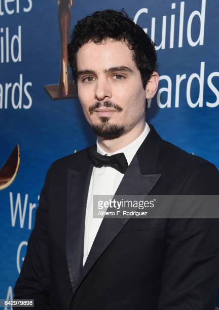 Director Damien Chazelle attends the 2017 Writers Guild Awards LA Ceremony at The Beverly Hilton Hotel on February 19 2017 in Beverly Hills California