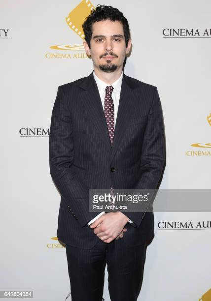 Director Damien Chazelle attends the 53rd Annual Cinema Audio Society Awards at Omni Los Angeles Hotel at California Plaza on February 18 2017 in Los...