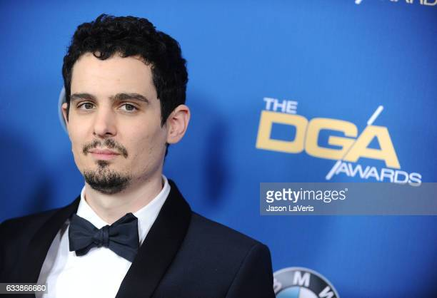 Director Damien Chazelle attends the 69th annual Directors Guild of America Awards at The Beverly Hilton Hotel on February 4 2017 in Beverly Hills...