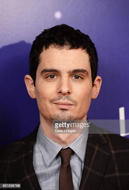 Director Damien Chazelle attends the Gala screening of 'La La Land' at Ham Yard Hotel on January 12 2017 in London England