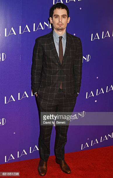 Director Damien Chazelle attends the La La Land Gala Screening at The Ham Yard Hotel on January 12 2017 in London England