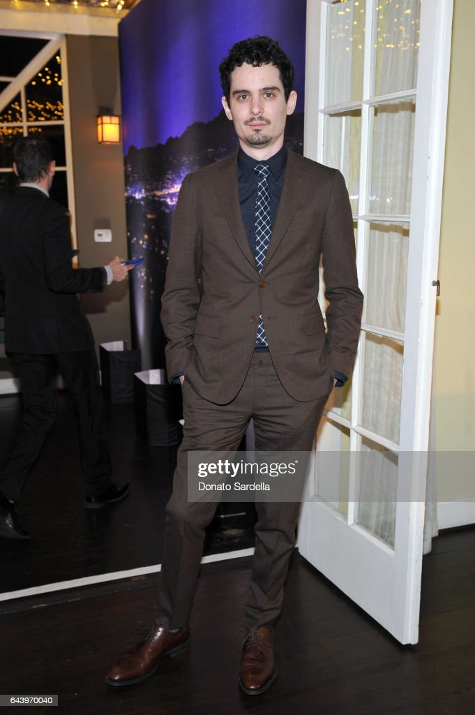 Director Damien Chazelle attends Vanity Fair and Barneys New York Private Dinner in Celebration of 'La La Land' at Chateau Marmont on February 22, 2017 in Los Angeles, California.