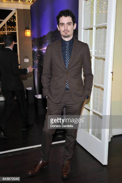 Director Damien Chazelle attends Vanity Fair and Barneys New York Private Dinner in Celebration of La La Land at Chateau Marmont on February 22 2017...