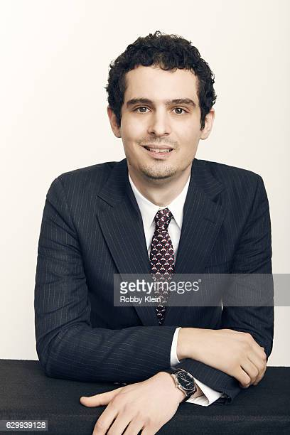 Director Damien Chazelle is photographed at the 22nd Critics Choice for Portrait Session on December 11 2016 in Santa Monica California