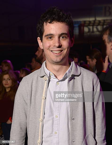 """Director Damien Chazelle winner of the Grand Jury Prize Dramatic and the Audience Award Dramatic presented by Acura for the film """"Whiplash"""" at the..."""