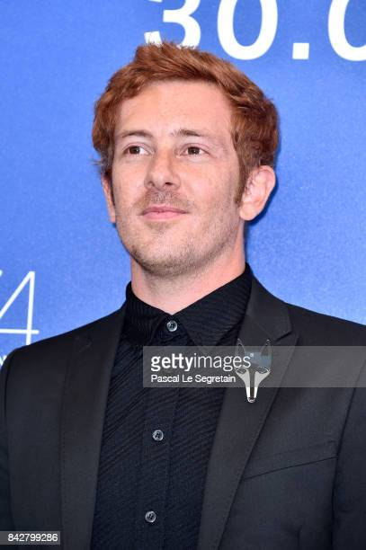 Director Damien Manivel attends the 'The Night I Swam ' photocall during the 74th Venice Film Festival at Sala Casino on September 5 2017 in Venice...