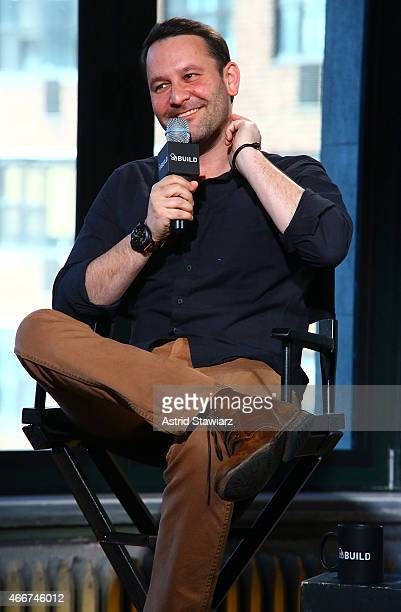 Director Dan Fogelman attends AOL Build Speaker Series Bobby Cannavale And Dan Fogelman Danny Collins at AOL Studios In New York on March 18 2015 in...