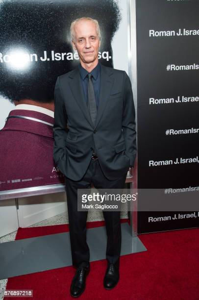 Director Dan Gilroy attends the Roman J Israel Esquire New York Premiere at Henry R Luce Auditorium at Brookfield Place on November 20 2017 in New...