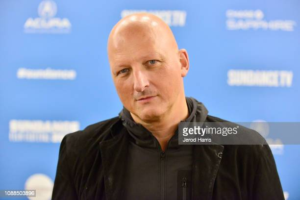 Director Dan Reed attends the Leaving Neverland Premiere during the 2019 Sundance Film Festival at Egyptian Theatre on January 25 2019 in Park City...