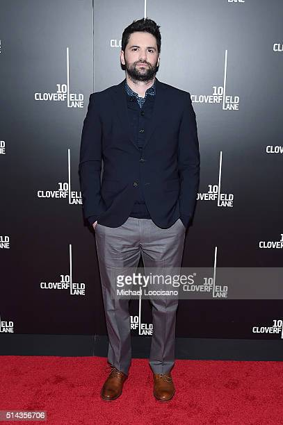 Director Dan Trachtenberg attends the 10 Cloverfield Lane New York premiere at AMC Loews Lincoln Square 13 theater on March 8 2016 in New York City