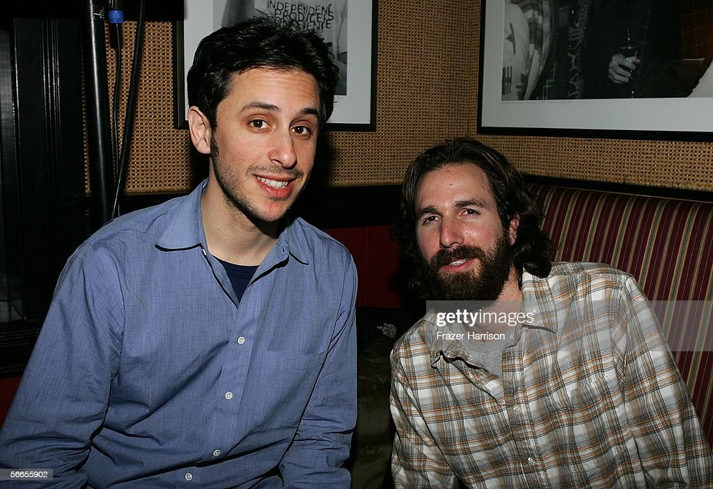 Director Dana Adam Shapiro (L) and Co-Producer Jeff Mandel arrive to the Cinetic Media Party at the Sundance Film Festival held at Zoom on January 23, 2006 in Park City, Utah.