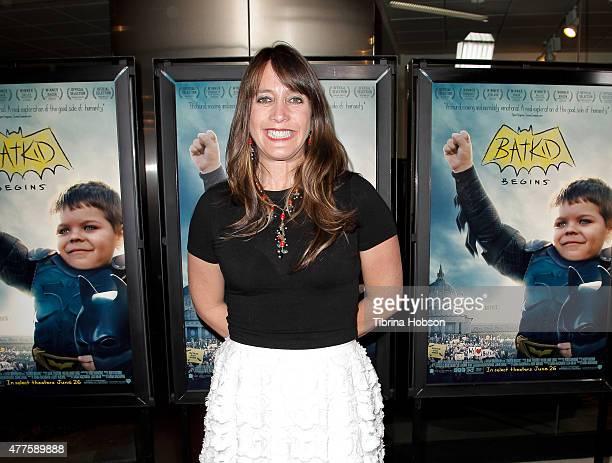 Director Dana Nachman attends the screening of Warner Bros. 'Batkid Begins' at Landmark Theatre on June 17, 2015 in Los Angeles, California.