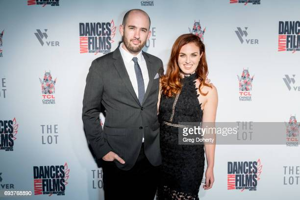 Director Dani Tenenbaum and Writer Producer Actress Stacey Maltin attend the Landing Up World Premiere during 20th Annual Dances With Films at TCL...
