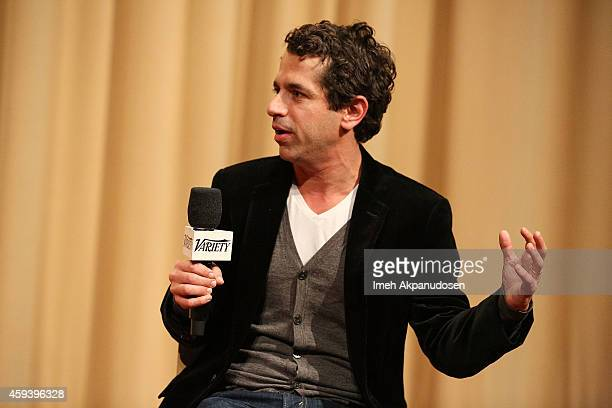 Director Daniel Barnz speaks onstage during a QA following the screening of 'Cake' during the 2014 Variety Screening Series at ArcLight Hollywood on...