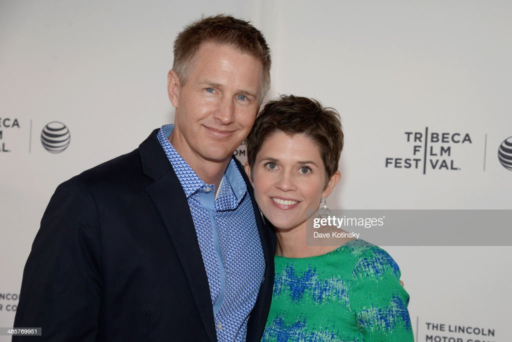 Director Daniel Junge (L) and Erin Breeze attend the 'Beyond the Brick: A LEGO Brickumentary' Premiere during the 2014 Tribeca Film Festival at the SVA Theater on April 20, 2014 in New York City.
