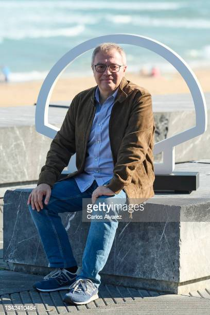 "Director Daniel Monzon attends ""Las Leyes de La Frontera"" photocall during 69th San Sebastian International Film Festival at Kursaal Palace on..."