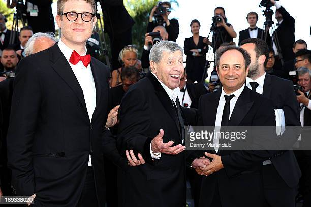Director Daniel Noah Actor Jerry Lewis and actor Kevin Pollak attends an hommage to Jerry Lewis and the Premiere of 'Max Rose' at The 66th Annual...