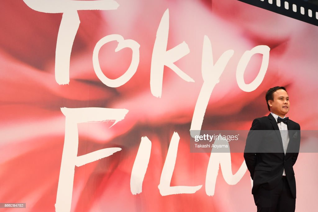 Director Daniel R. Palacio attends the red carpet of the 30th Tokyo International Film Festival at Roppongi Hills on October 25, 2017 in Tokyo, Japan.