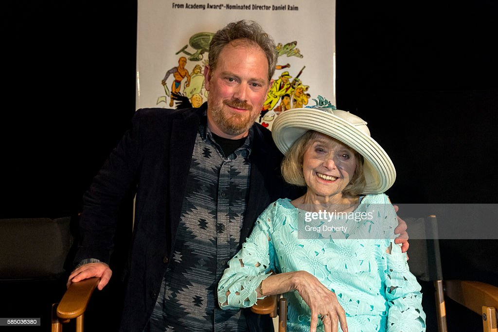Director Daniel Raim and Lillian Michelson pose for a picture after the Premiere Of 'Harold And Lillian: A Hollywood Love Story' at the Egyptian Theatre on July 31, 2016 in Hollywood, California.