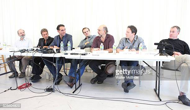 Director Daniel Sullivan Al Pacino Bobby Cannavale David Harbour Richard Schiff Jeremy Shamos John C McGinley attending the 'Glengarry Glen Ross'...