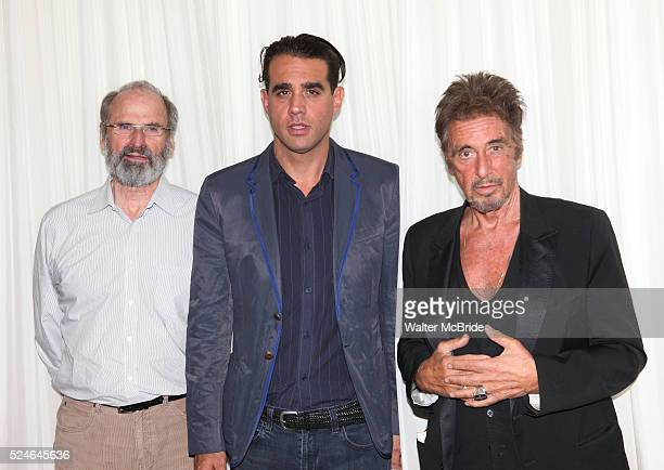 Director Daniel Sullivan Bobby Cannavale Al Pacino attending the 'Glengarry Glen Ross' Media Day at Ballet Hispanico Rehearsal Studios in New York...