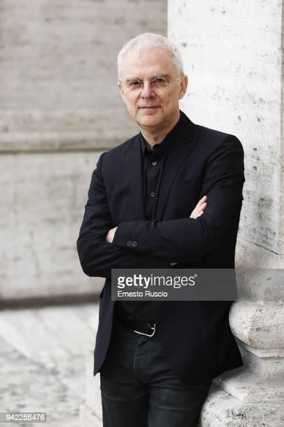 Director Daniele Lucchetti attends 'Io Sono Tempesta' photocall at The Space Moderno on April 5 2018 in Rome Italy