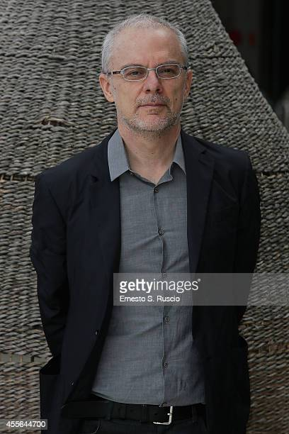 Director Daniele Lucchetti attends the Press Conference of Taodue photocall at Auditorium Parco Della Musica on September 18 2014 in Rome Italy