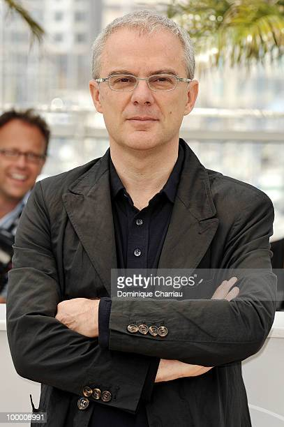 Director Daniele Luchetti attends the 'Our Life' Photo Call held at the Palais des Festivals during the 63rd Annual International Cannes Film...