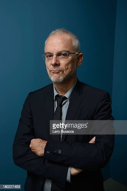 Director Daniele Luchetti of 'Those Happy Years' poses at the Guess Portrait Studio during 2013 Toronto International Film Festival on September 10...