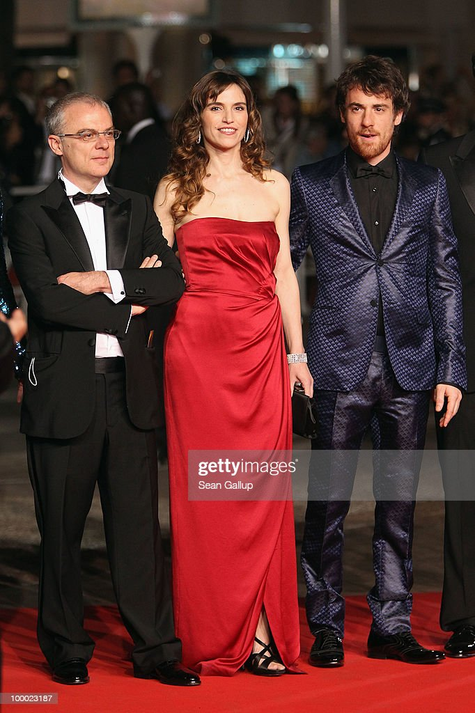 Director Daniele Luchetti, Stefania Montorsi and Elio Germano attend the 'Our Life' Premiere at the Palais des Festivals during the 63rd Annual Cannes Film Festival on May 20, 2010 in Cannes, France.