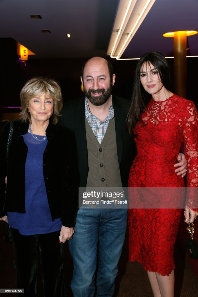 'Des Gens Qui S'embrassent' Premiere At Gaumont Marignan In Paris