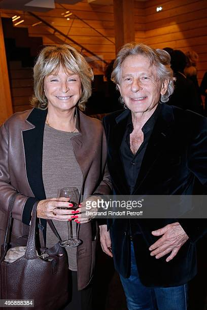 Director Daniele Thompson and Director Roman Polanski attend the Cinema 'Les Fauvettes' Opening Ceremony on November 5 2015 in Paris France