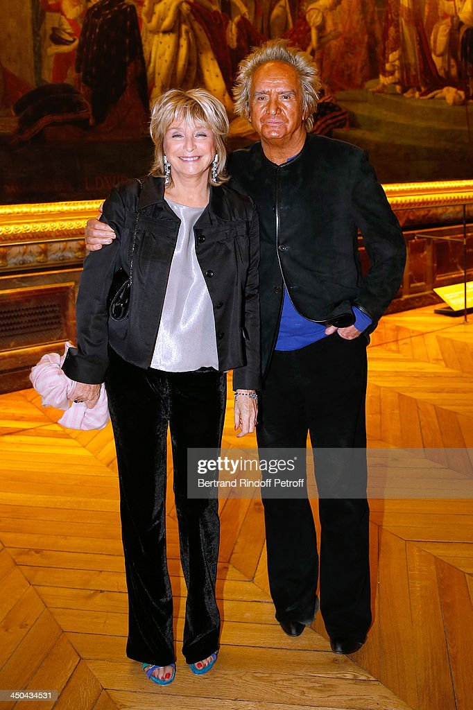 Director Daniele Thompson (L) and her husband, producer Albert Koski attend Pasteur-Weizmann Gala at Chateau de Versailles on November 18, 2013 in Versailles, France.