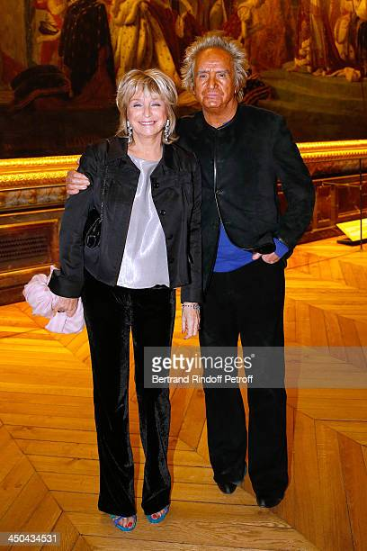 Director Daniele Thompson and her husband, producer Albert Koski attend Pasteur-Weizmann Gala at Chateau de Versailles on November 18, 2013 in...